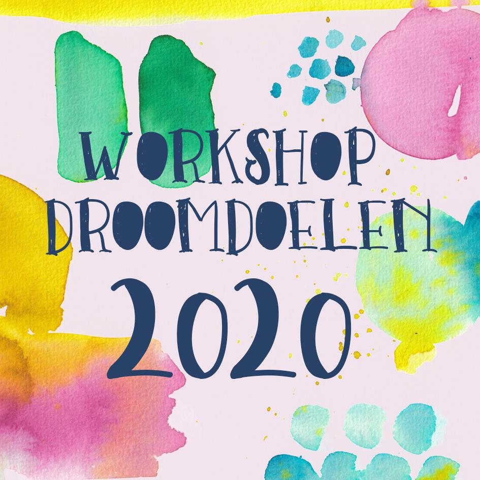 workshop droomdoelen 2020 nijmegen petra van dreumel