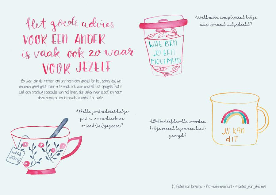 werkblad advies aan een ander Petra van Dreumel