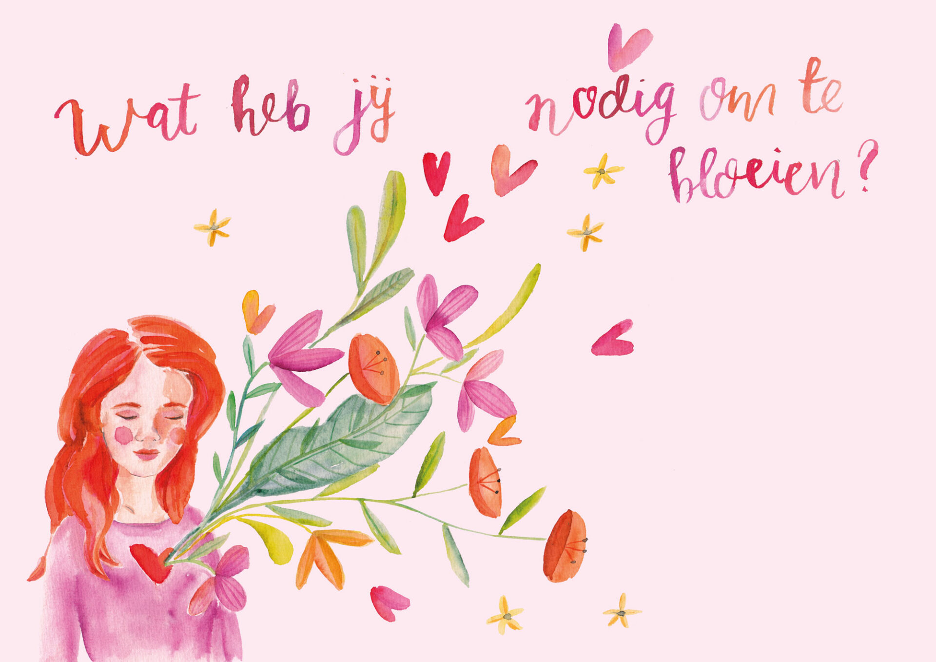 Wat heb je nodig - illustratie Petra van Dreumel